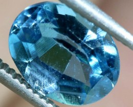 BLUE TOPAZ NATURAL FACETED 2.4 CTS PG-1880