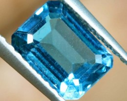 BLUE TOPAZ NATURAL FACETED 1.3  CTS PG-1884