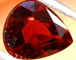 GARNET FACETED STONE  2 CTS PG-1892