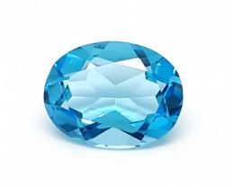 STUNNING SWISS BLUE TOPAZ 1.80 cts  Gemstone