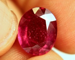 6.89 Carat Fiery Ruby - Superb