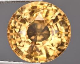 5.87 Cts Natural Imperial Orange Hessonite Garnet Round Cut Srilanka Gem