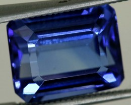 7.4 CTS  CERTIFICATE TANZANITE FACETED  TBM-884