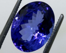 5.36 CTS  CERTIFICATE TANZANITE FACETED  TBM-885