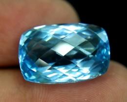 24.15 cts Lovely Blue Topaz Loose Gemstone