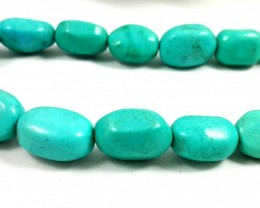 405 CT TURQUOISE TOP QUALITY NECKLACE GEMSTONE 17X12X10MM 3