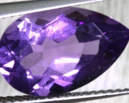 4.05 CTS AMETHYST FACETED STONE CG-2165