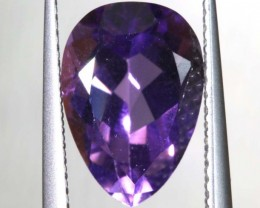 3.05 CTS AMETHYST FACETED STONE CG- 2171