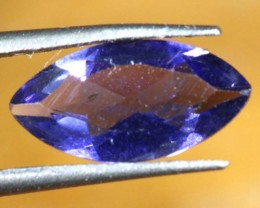 0.75 CTS TANZANITE  VIOLET BLUE PG- 1908