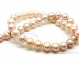 11mm natural fresh water pearl 330 cts  Necklace for collection