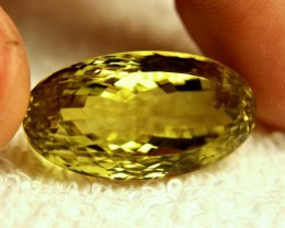 39.35 Carat VVS African Lemon Quartz - Gorgeous