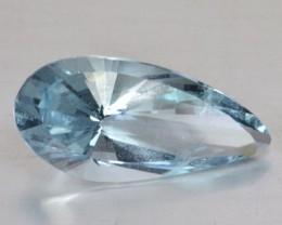 Rare Cut 9.47 Cts Natural Blue Aquamarine Brazil Gem