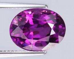 1.70 Cts Beautiful Natural Purple Pink Rhodolite Garnet