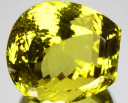 Beautiful 81.97 Cts Natural Honey Yellow Quartz Fancy Cut Brazil Gem