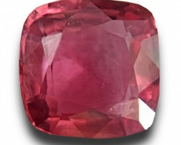 1.3 Carats | Natural Pink Orange Sapphire | Loose Gemstone | New | Sri Lank