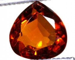 1.85 CTS  SPESSARTITE  GARNET FACETED STONE PG-1938