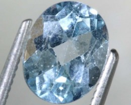 2.3 CTS BLUE TOPAZ FACETED GEMSTONE PG-1943
