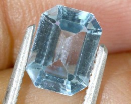 1.9 CTS BLUE TOPAZ FACETED GEMSTONE PG- 1944
