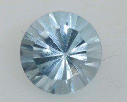 2.45 CTS BLUE TOPAZ FACETED GEMSTONE PG- 1950