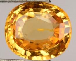 5.82 Cts Natural Imperial Orange Hessonite Garney=t Cushion Cut Srilanka Ge