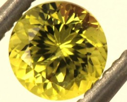 0.6 CTS  LEMON SAPPHIRE FACETED GEMSTONE TBM-923