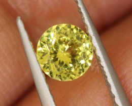 0.35 CTS UNHEATED YELLOW SAPPHIRE FACETED GEMSTONE TBM- 930