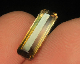 Wow Very Beautiful Bi color Tourmaline For Ring Or Pendant Collector's Gem