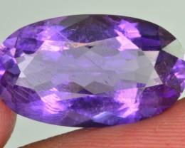 7.25 Ct Superb Color Natural Amethyst
