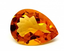 STUNNING CITRINE 15.00 Cts  Gemstone