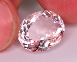 Brilliant Color 5.80 Ct Natural Light Pink Morganite