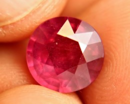 6.07 Carat Fiery, Vibrant Ruby - Gorgeous