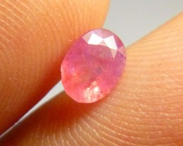 1.03cts Natural Burmese Ruby , Untreated Gemstone