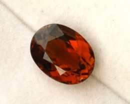 1.52 Carat Oval Cut Orange Tourmaline