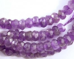 36 CTS AMETHYST BEAD FNP 14 NP-2110