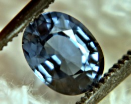 CERTIFIED - 1.22 Carat Blue Sapphire - Gorgeous