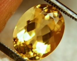 3.82 Carat VVS1 Golden Brazil Beryl - Beautiful