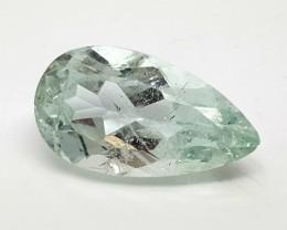 2.65 Cts AQUAMARINE PEAR SHAPE Gemstone