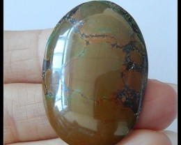 43Ct Natural Turquoise Gemstone Cabochon