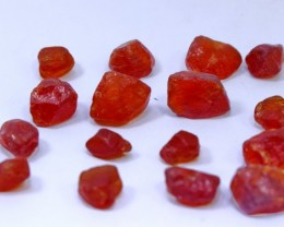 106 CT natural red color spessartite garnet rough