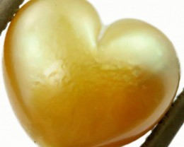 5.3 Cts Golden Love Heart Shape Natural Pearl [PPP878]