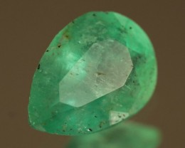.744ct Colombian Emerald