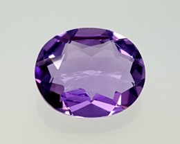 3.70 CT AMETHYST BEAUTIFUL FLAWLESS GEMSTONE