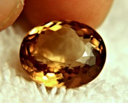 14.57 Carat VVS1 Brazil Golden Brown Topaz - Lovely