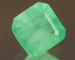 .856ct Colombian Emerald