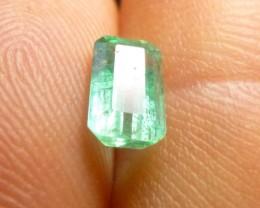 0.84cts Zambian  Emerald , 100% Natural Gemstone