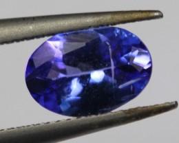 0.76Cts Natural Purple Blue Tanzanite