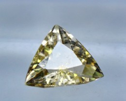 Wow~3.85 CT Natural & Beautiful Golden Yellow Heliodor beryl gemstone