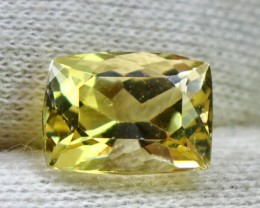 Wow~3.95 CT Natural & Beautiful Golden Yellow Heliodor beryl gemstone