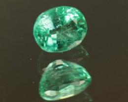 .487ct Panjshir Emerald