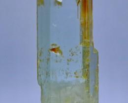 41.30 Cts Natural & Unheated Water Blue Aquamarine Crystal